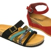 Shoes of Soul Women's Footbed Sandals