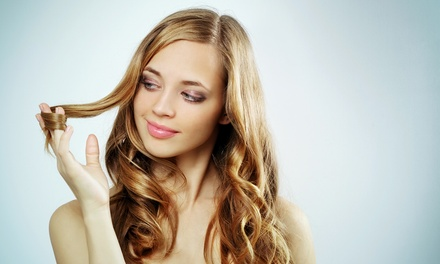 Haircut with Optional Partial Highlights or Lowlights from Amber Kelley at Lulu Salon and Spa (Up to 51% Off)
