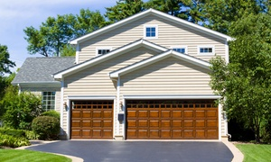 H&O Garage Doors: $89 for Garage-Door Reconditioning and Roller Replacement from H&O Garage Doors ($289 Value)