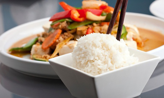 The Hamilton Arms Nava Thai - Stedham: Two-Course Meal For Two With Rice for £14 at Nava Thai (Up to 59% Off)