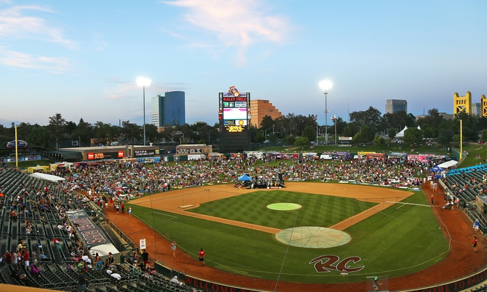 Fourth on the Field - Raley Field: Fourth on the Field at Raley Field on Saturday, July 4 (Up to 50% Off)