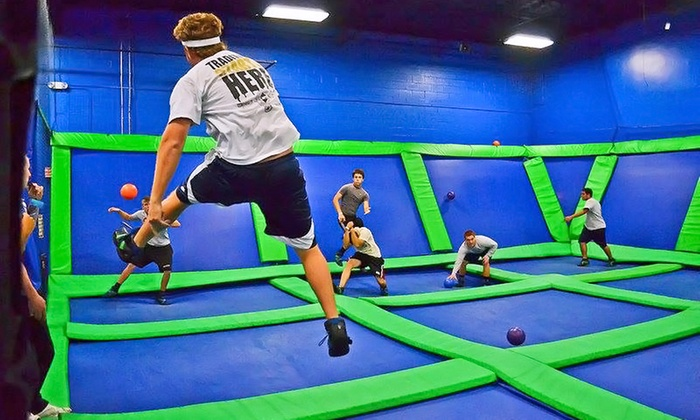 AirHeads Trampoline Arena - Multiple Locations: Two or Four One-Hour Jump Passes at AirHeads Trampoline Arena (Up to 33% Off)