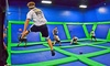 AirHeads Trampoline Arena - Multiple Locations: Two Unlimited or Two or Four One-Hour Jump Passes at AirHeads Trampoline Arena (Up to 33% Off)