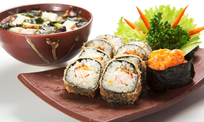 New Yu Me - East Rockaway: Sushi Meal for Two or Four at New Yu Me (Up to 56% Off)