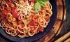 Angolo Italiano - Kingsburg: Italian Cuisine and Drinks at Angolo Italiano (Half Off). Two Options Available.