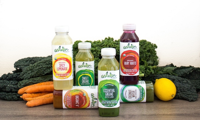 Evolution Fresh - Multiple Locations: Three-Day Juice Program or Five Lunches at Evolution Fresh (Up to 31% Off). Three Options Available.