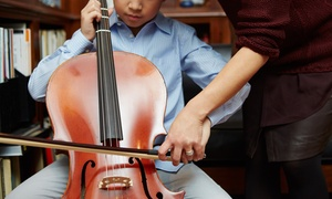 Sage Music: One or Three 45-Minute Private Music Lessons or Eight-Week Music Course at Sage Music (Up to 51% Off)