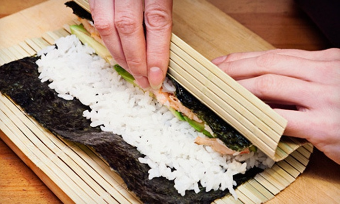 I Wish Lessons - Dupont Circle: Just Roll It Sushi-Making Class for One, Two, or Four from I Wish Lessons (Up to 57% Off)