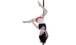 Twirly Girls Pole Fitness: One, Four, or Eight Beginner Pole-Dance Classes at Twirly Girls Pole Fitness (Up to 59% Off)
