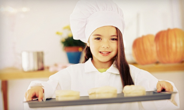 Kids Culinary Adventures - Pacifica: Halloween- or Thanksgiving-Themed Cooking Camps, or Culinary Party for 10 from Kids Culinary Adventures (Up to 51% Off)