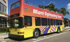 Miami Nice Tours: Miami Bus Tour with Optional Bay Cruise, or Everglades Airboat Tour from Miami Nice Tours (Up to 49% Off)