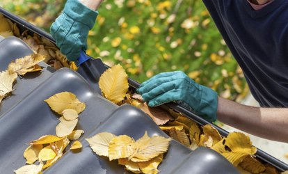 Up to 58% Off <strong>gutter cleaning</strong> at Productive Work Inc