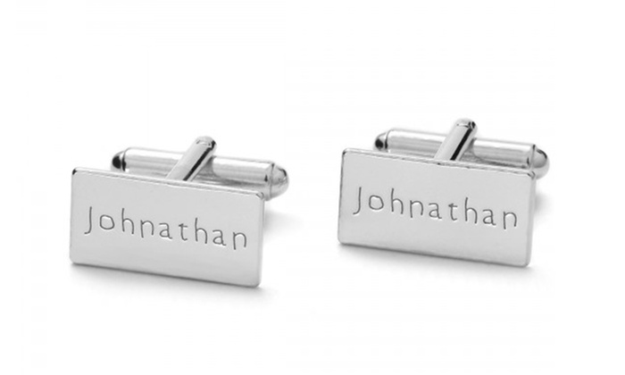 Custom Cufflinks in Sterling Silver from Silvexcraft