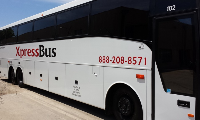 Xpressbus - West Dallas: $275 for $500 Worth of Bus Transportation — XpressBus