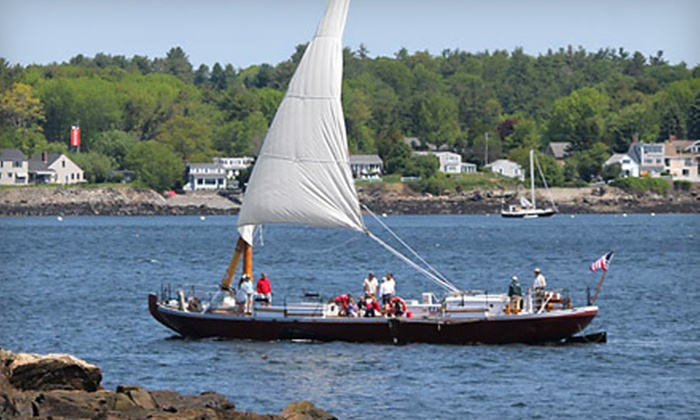 Gundalow Company - Portsmouth: Midday, Afternoon, or Sunset Sail for Two from Gundalow Company (Up to Half Off)