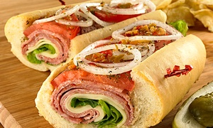 Alessi Bakery: $13 for $20 Worth of Deli Food for Lunch at Alessi Bakery (35% Off)
