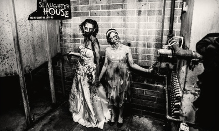 The Slaughterhouse - Tucson: Haunted-House Attractions at The Slaughterhouse (Up to 57% Off). Two Options Available.