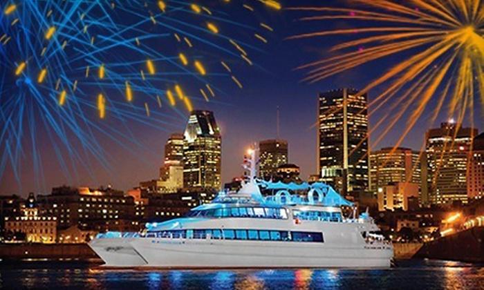 Croisière Le Montréalais - Promenade du Vieux-Port: $99 for a Fireworks Cruise with Cocktails for One from Croisière Le Montréalais ($206.96 Value)