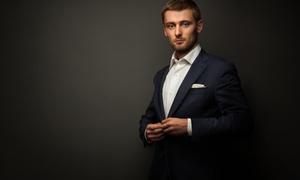 Ram's Clothiers: $699 for a Bespoke Suit with Two Dress Shirts and Two Years of Alterations at Ram's Clothiers ($1,478 Value)