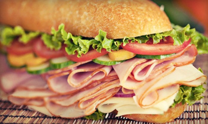 Boardwalk Subs - Multiple Locations: $7 for $14 Worth of Jersey Subs, Soup, and Salads at Boardwalk Subs