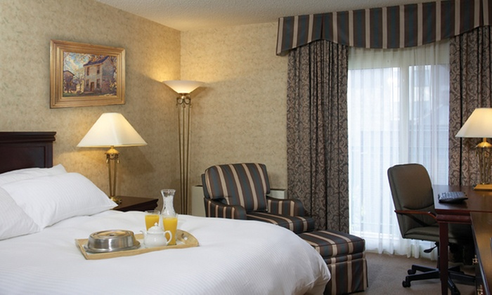 The Waterloo Inn Conference Hotel - Waterloo: One-Night Stay and Breakfast for Two July 10–Aug. 7 or Dec. 1–30 at The Waterloo Inn Conference Hotel (47% Off)