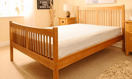 Handmade Shaker Bed Frame (from £135) With Mattress (from £179) With Free Delivery (Up to 70% Off)