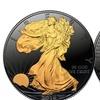 Black Ruthenium 2016 American Silver Eagle U.S. Coin