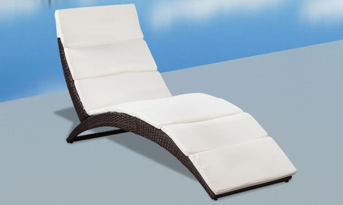 Fabulous Tot 50% op Opvouwbaar ligbed met kussen   Groupon Producten WI82