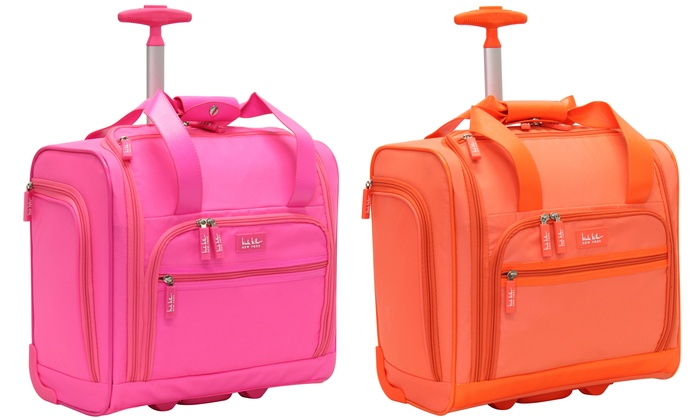 410ec4eeeb14 Nicole Miller Under-Seat Luggage