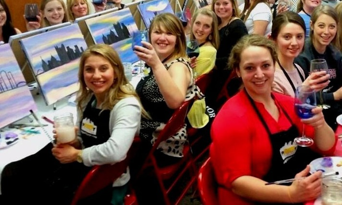 Art Party Pittsburgh - Art Party Pittsburgh: $27 for a BYOB Paint Night for One at Art Party Pittsburgh ($45 Value)