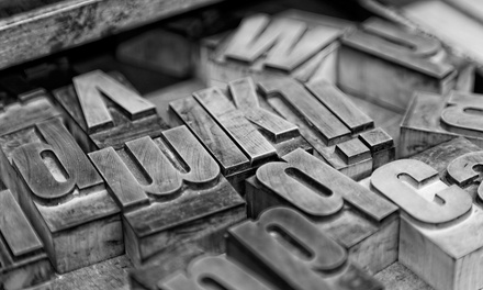 Make Letterpress Posters with Vintage Wood Type