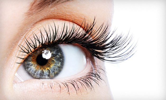 LadyLash Cafe - Commerce: Mascara Lash Extensions or MegaLashes Extensions with Two Refills at LadyLash Cafe (Up to 67% Off)