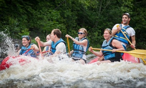 Valley To Summit: Whitewater-Rafting Packages with Valley To Summit (Up to 40% Off). Two Options Available.