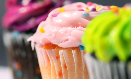 Chocolate-Covered Strawberries, Cupcakes, or Kids' Party from Pinky Sweets Cupcakes and Confections (Half Off)