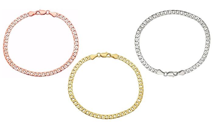 Fine Jewelry Womens 14K Gold Chain Bracelet x5JejsIiJ
