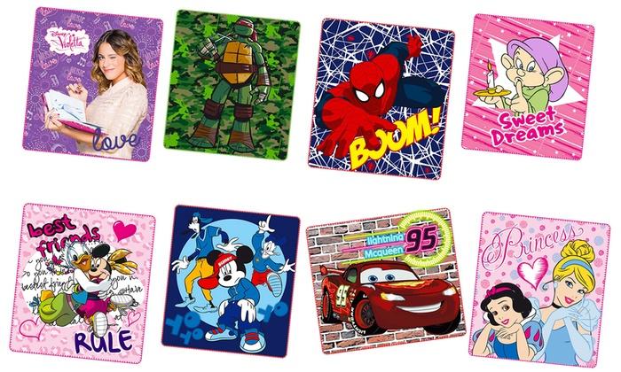 Coperta Pile Con Foto Groupon.Plaid In Pile Con Personaggi Disney Groupon Goods