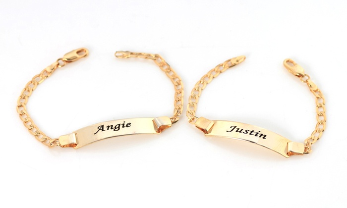 Engraved Baby Bracelet From Monogramhub Up To 73 Off