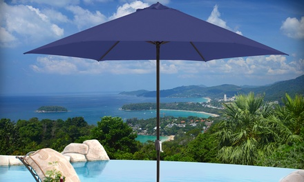 11' Aluminum Market-Style Patio Umbrella