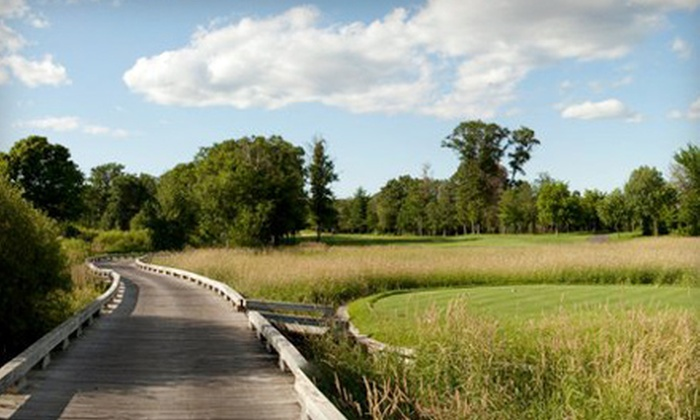 The Refuge Golf Club - Shade Tree Communities: $58 for 18 Holes of Golf for Two Including Cart at The Refuge Golf Club in Oak Grove (Up to $118 Value)