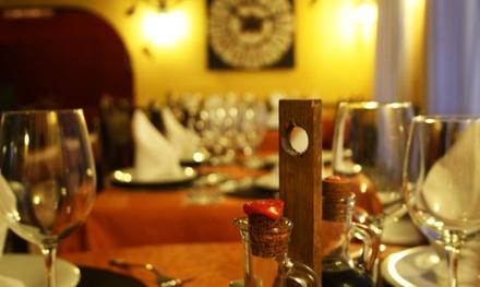 Menú para 2 o 4 con entrante, parrillada, postre, bebida y digestivo desde 24,90 € en Parrilla Argentina la Salamandra
