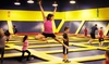 Sky High Sports - Burlingame: Two Hours of Jump Time at Sky High Sports (27% Off)