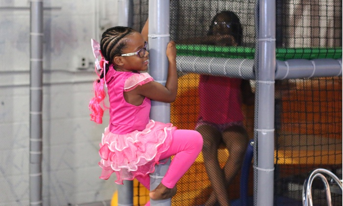 Little BIG World - Little Big World: Open-Play Passes or Birthday Party at Little BIG World (Up to 58% Off). Three Options Available.