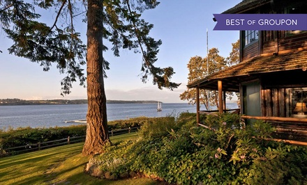2-Night Stay for Two with Dining Credit at The Captain Whidbey Inn on Whidbey Island, WA. Combine...