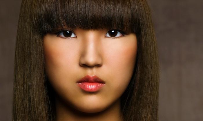 Ricci Kapricci Salon - Lakeview: Keratin Straightening or Men's or Women's Haircut at Ricci Kapricci Salon (Up to 50% Off)