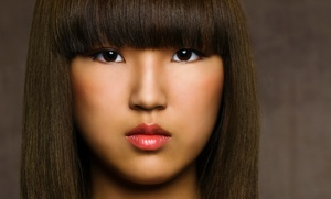 Ricci Kapricci Salon: Keratin Straightening or Men's or Women's Haircut at Ricci Kapricci Salon (Up to 50% Off)