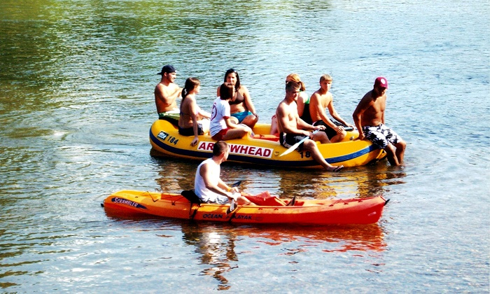 Arrowhead Resort - Tahlequah: $23 for a Six-Mile Float Trip for Two at Arrowhead Resort ($46 Value)