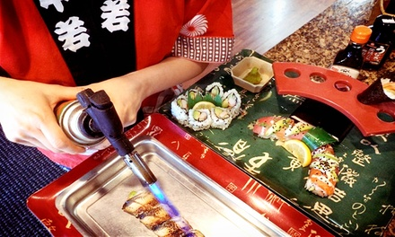 Sushi Class for Two or  Sushi Party for Six from Sea To You Sushi (Up to 53% Off). Three Options Available.