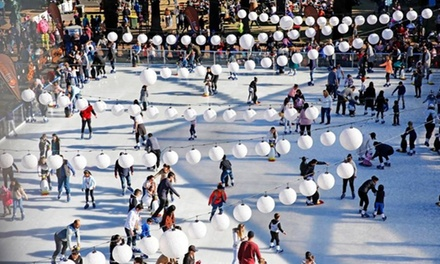 Ice Skating Session for Child $12 or Adult $14, or 60 Ride Coupons $35 at Winterland Blacktown Up to $50 Value