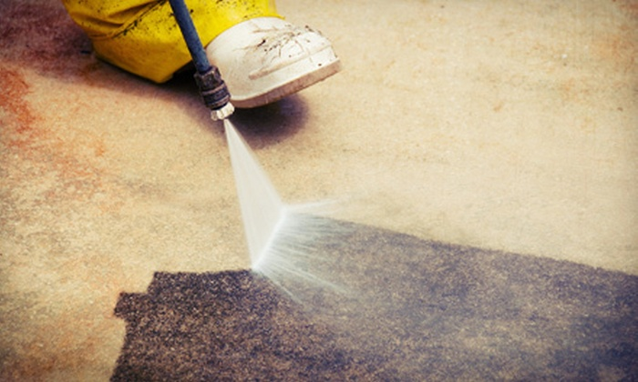 Ward Group Property Services - Downtown: Exterior Pressure Washing for Up to 4,000 or 6,000 Square Feet from Ward Group Property Services (Up to 79% Off)