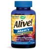 30-Serving Bottles of Alive! Men Multivitamin Gummies